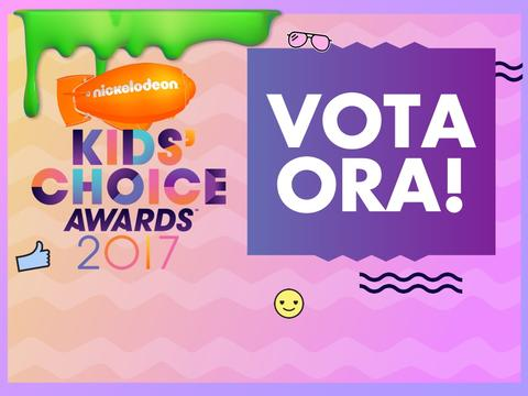 Vota ai Kids' Choice Awards!