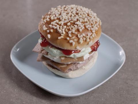 Il Krabby Patty di gelato