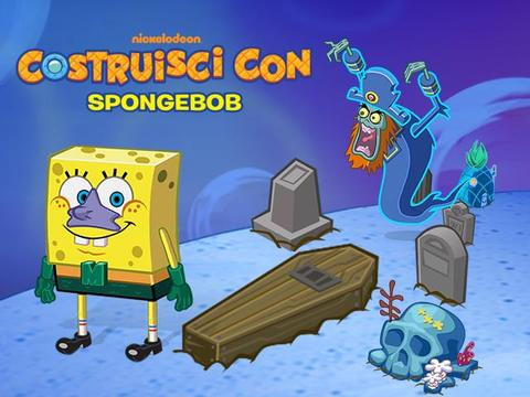 App: Costruisci con Spongebob - Halloween Update