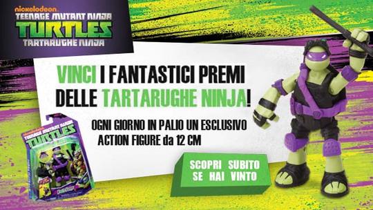 Vinci con le Tartarughe Ninja!