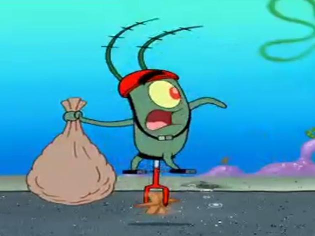 A caccia di Plankton