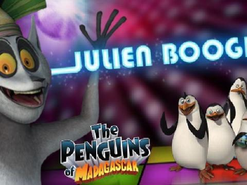 I Pinguini: Balla con Re Julien