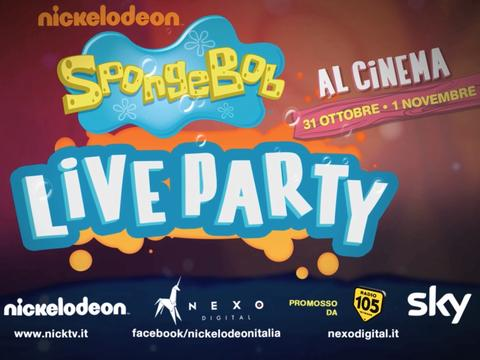 Spongebob Live Party: Il trailer
