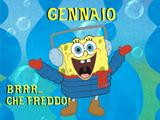 Il calendario 2014 di Spongebob