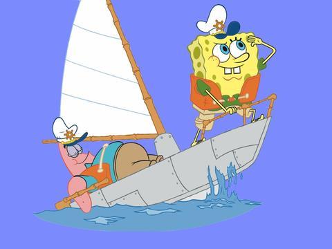 In crociera con Spongebob e Patrick