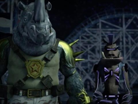 Bebop e Rocksteady hanno nomi da mutanti!