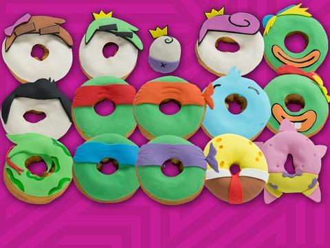 Le ciambelle di Nickelodeon