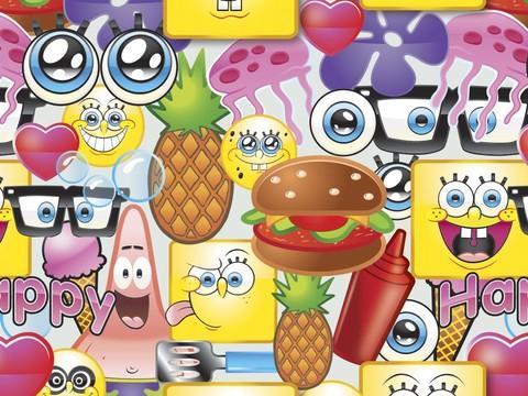 10 emoji di Spongebob