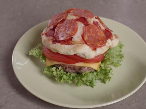 Un hamburger mutante
