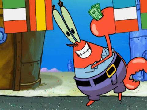 In cucina con Spongebob
