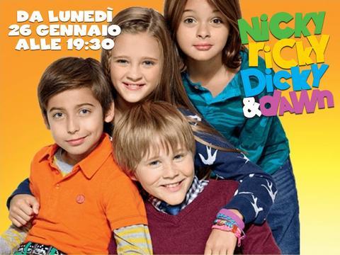 Nuova serie: Nicky, Ricky, Dicky and Dawn