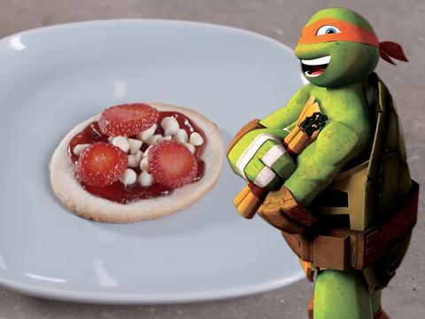 Le pizzette dolci di Michelangelo