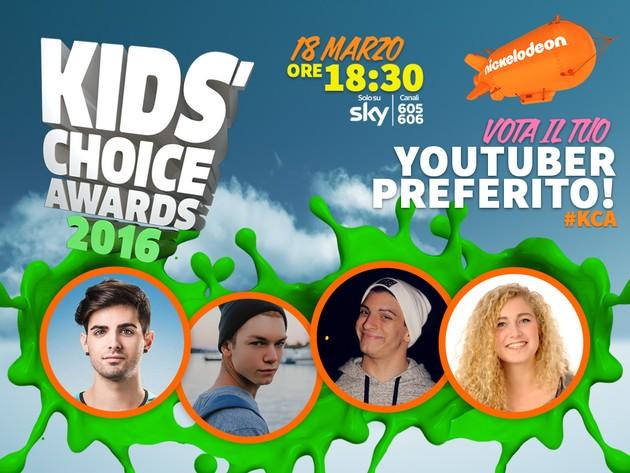 Vota il tuo youtuber preferito!