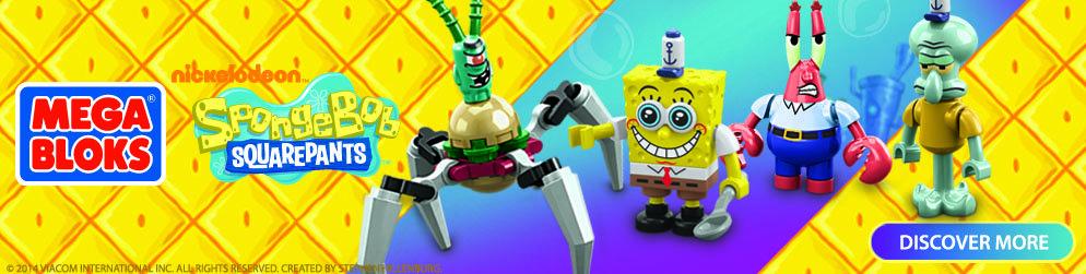 Mega Bloks & SpongeBob