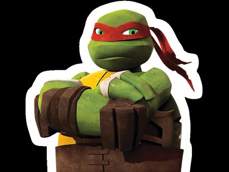 Nickelodeon slime cup equipe rouge - Tortue ninja raphael ...