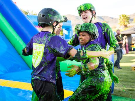 Slime Warrior Relay!