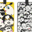 Lanvin Set Of Two Printed Luggage Tags