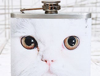 Urban Outfitters Persian Cat Hip Flask