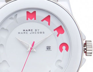 Marc By Marc Jacobs Icon Stripe Watch
