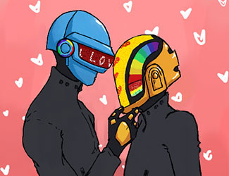 Fan Art Friday | Daft Punk