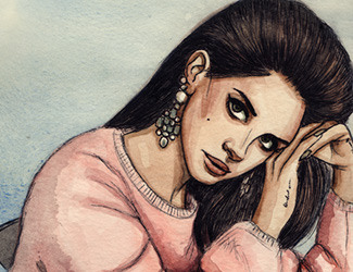 Fan Art Friday | Lana Del Rey