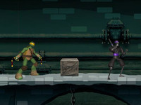TMNT VS El Clan del Pie