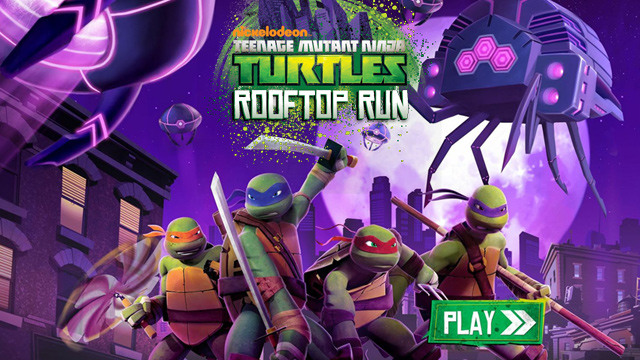 Check Out the TMNT: Rooftop Run Game!