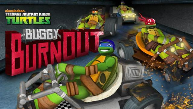 Buggy Burnout! Turtle Buggys, get ready, get set...Go!