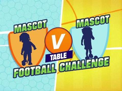 Mascot V Mascot: Dagenham and Redbridge V Luton town