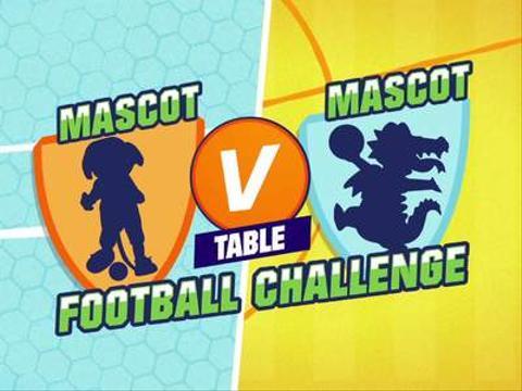 Mascot V Mascot: Northampton V Portsmouth