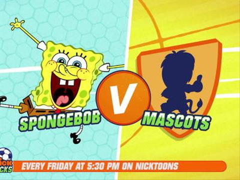 SpongeBob V Mascot