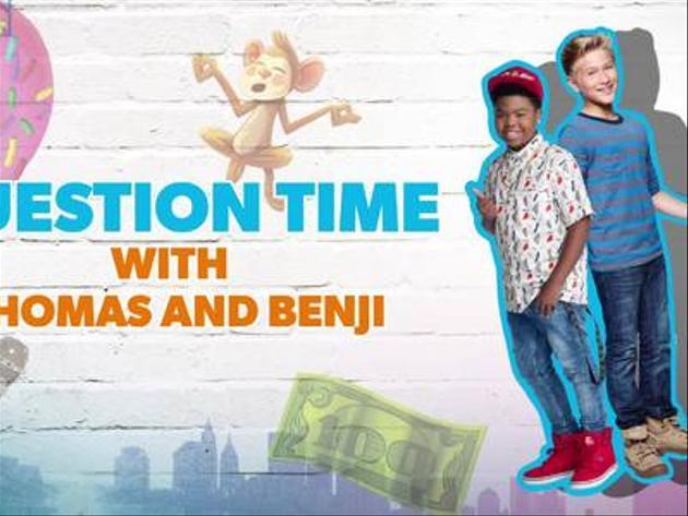 Benji Thomas Question Time