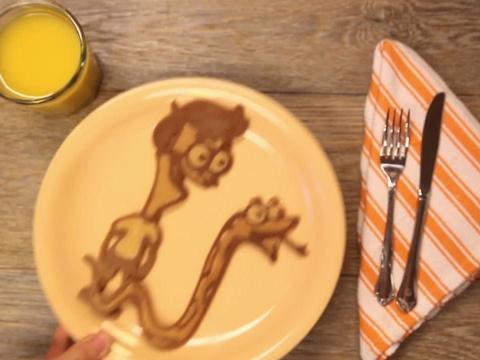 Il pancake di Sanjay and Craig