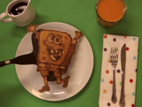 Il pancake di Spongebob