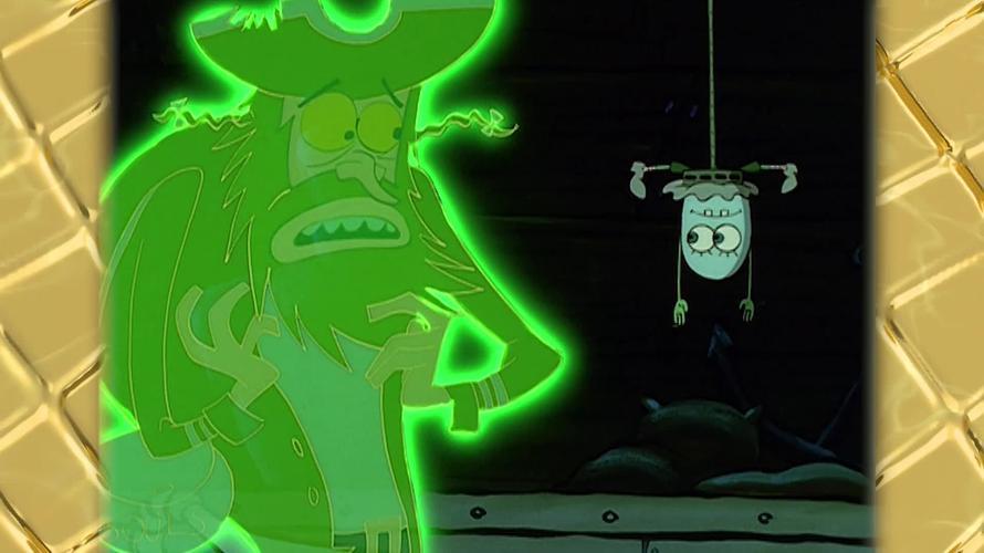 Bob Esponja es... ¡el Holandés Errante! - Bob Esponja Halloween