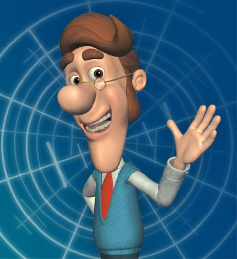 Hugh Neutron From Jimmy Neutron Boy Genius Cartoon