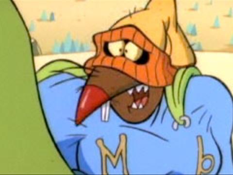 "Angry Beavers: ""Muscular Beaver"""