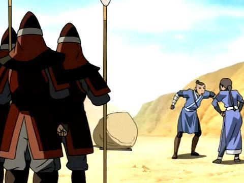 Avatár - Aang legendája | 1. Könyv - Víz | 6. fejezet - Rabhajó