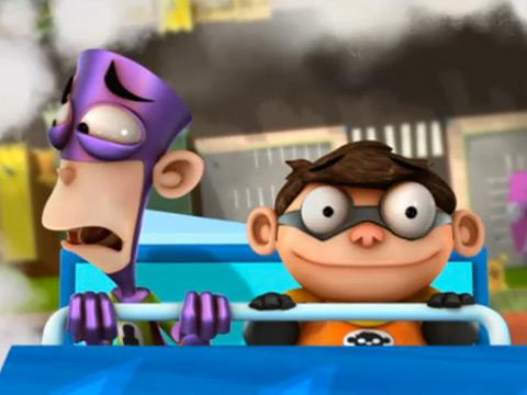 "Fanboy & Chum Chum: ""Man Arctica the Ride: I Scream Extreme"""