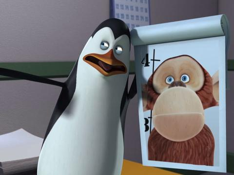 """Penguins of Madagascar: """"Operation: Swap-Panzee: Penguins in Space"""""""