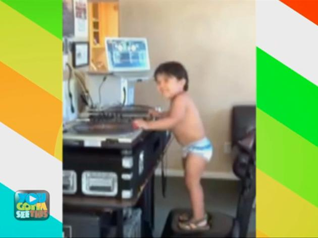 """You Gotta See This!: """"Three, Two, One Direction: Baby Dj"""""""