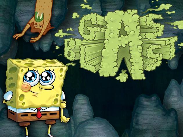 SpongeBob SquarePants: Gas Blast