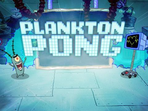 Bob Espona: ¡Plankton Pong!