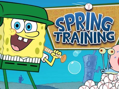 Bob Esponja | Treinamento de Primavera