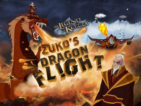 La leyenda de korra: El vuelo del dragon Zuko
