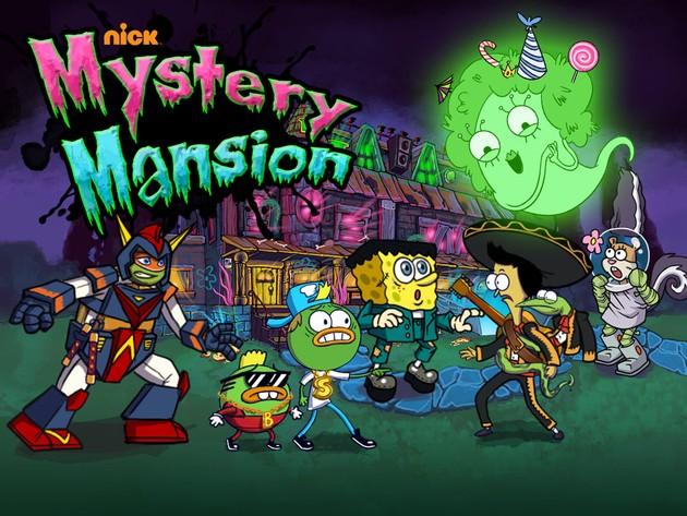 Nickelodeon Kísértetkastély