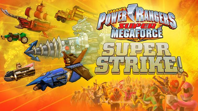 Power Rangers Super Megaforce Super Strike Html5 Free