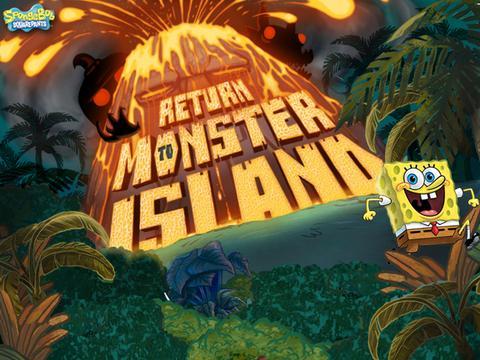 Jogo Bob Esponja | O Retorno à Ilha Monstro Online Gratis