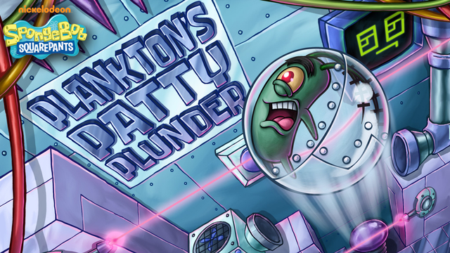 SpongeBob SquarePants: Plankton's Patty Plunder Strategy Game