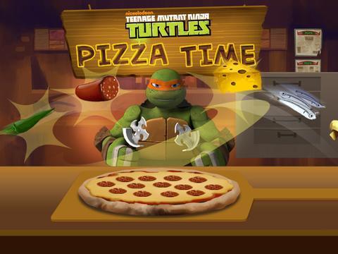 Пора есть пиццу! (Черепашки-ниндзя (6+))